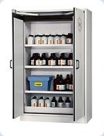 Bezpečnostní skříň s dvoukřídlými dveřmi s požární odolností 30 minut