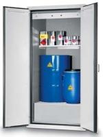 Bezpečnostní skříň na skladování sudů,s požární odolností 90 minut