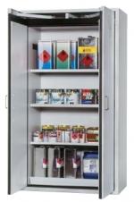 Bezpečnostní skříň s dvoukřídlými dveřmi s požární odolností 90 minut