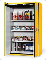 Bezpečnostní skříň s dvoukřídlými dveřmi s požární odolností 60 minut