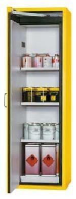 Bezpečnostní skříň s levými dveřmi s požární odolností 60 minut