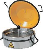 čistící a zvlhčovací nádoba; V=2,5 litrů; nerez