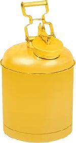 sběrná nádoba, lakovaná ocel, objem 4 litry, žlutá