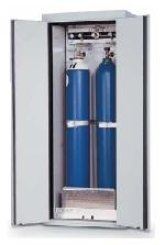 G30-bezpečnostní skříň na skladování tlakových lahví, s požární odolností 30 minut, barva: světle šedá RAL 7035